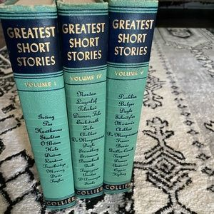 Rare 1940 Collier Greatest Short Stories Set